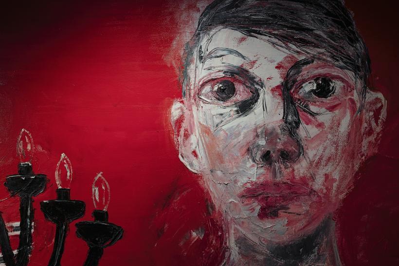 Shani Rhys James: tea on the sofa, blood on the carpet, Charleston, 1 February - 19 April 2020