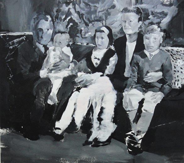 Grace I, 2012, acrylic on canvas, 142 x 125 cm