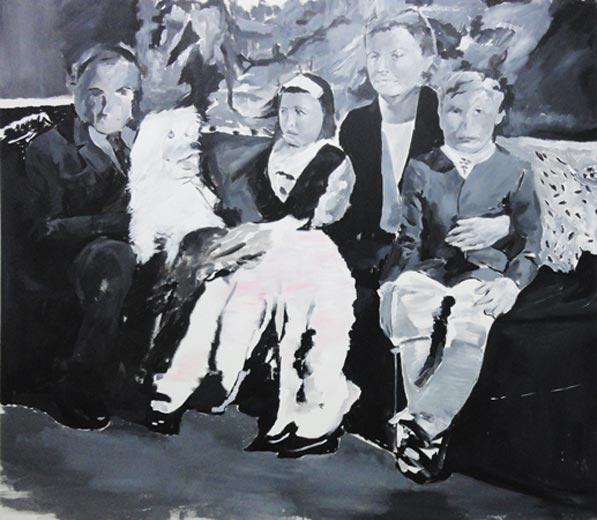 Grace II, 2012, acrylic on canvas, 142 x 125 cm copy
