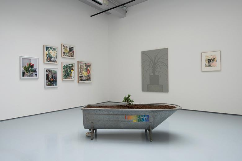Liberated Bonsai in Antique Tin Bath, Installation view, Secret Life, SCHQ, 07 June  25 August 2012