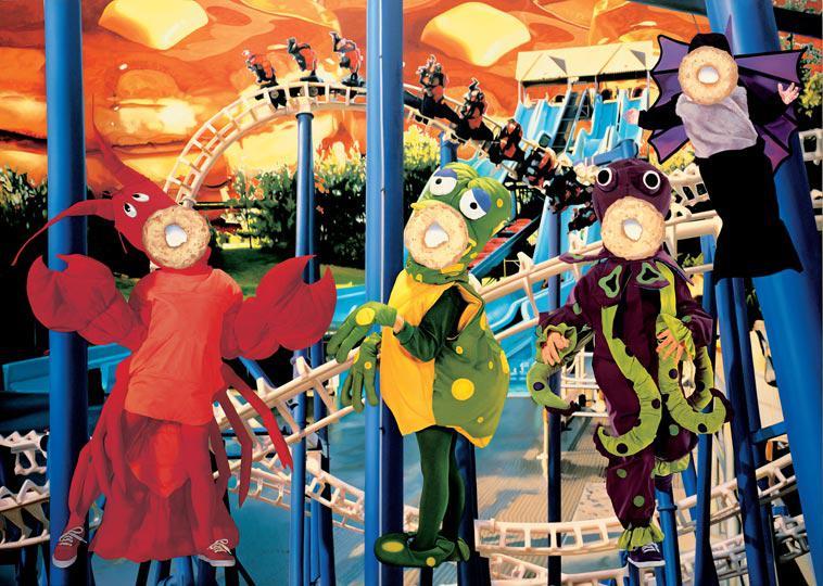Schirn Presse Koons Bluepoles 2000 01