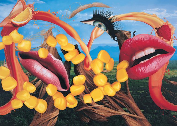 Schirn Presse Koons Lips 2000 01