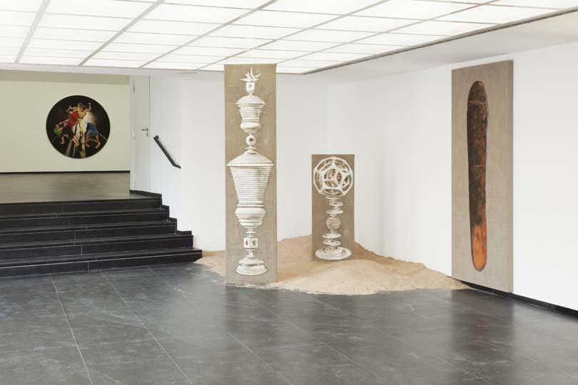 Majewski installation view