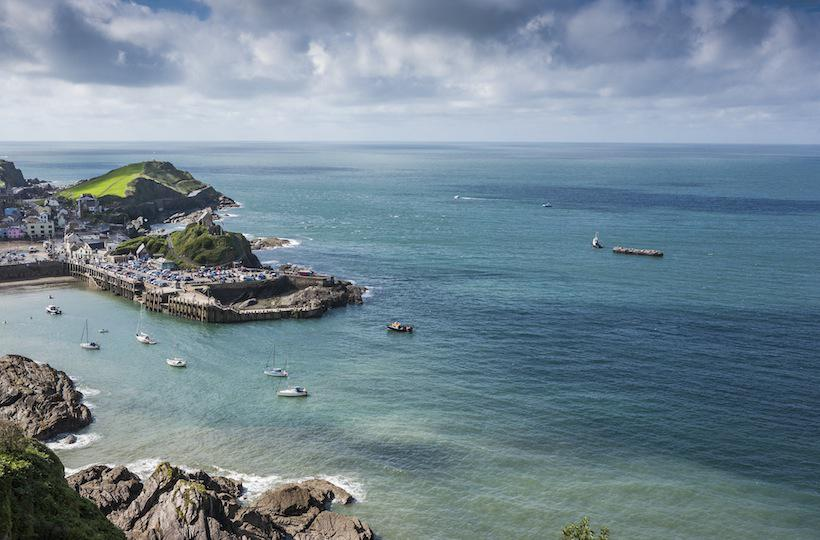 24 Nowhereisland visits Ilfracombe in North Devon Photo Max McClure