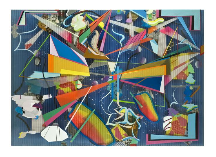 Ramsay MacDonald, 2009 Mixed  media on Triplewall 150 x 210 cms