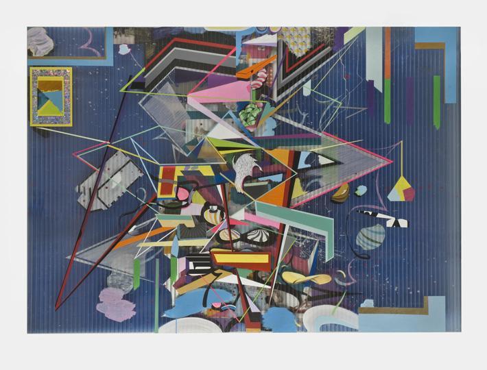 coverRosebery, 2009 Mixed media on tTriplewall  150 x 210 cms