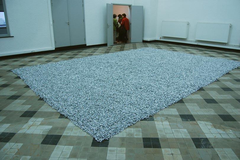 Felix Gonzalez Torres, Untitled (Placebo), 1991