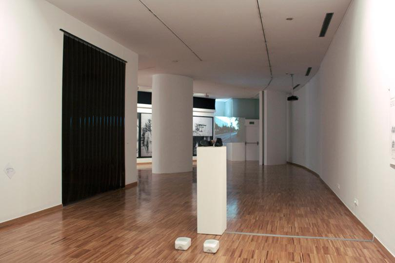 2.Desire Lines installation view Abu Hamdan, Aerial Waller, Cesar, Oldfied Ford