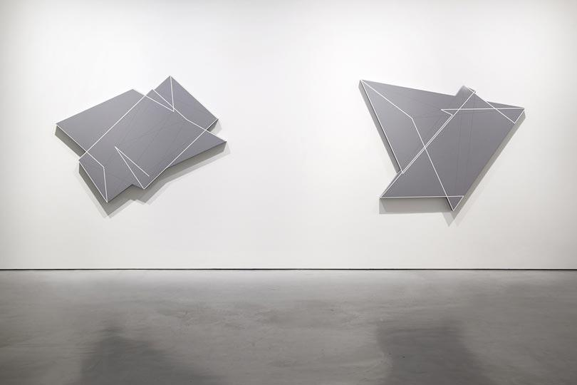 Manfred Mohr one and zero installation view 5