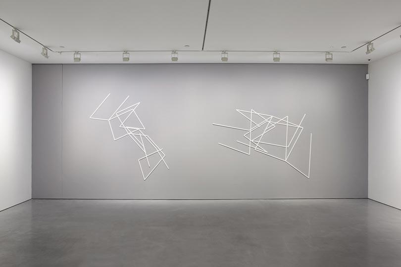 Manfred Mohr one and zero installation view 8
