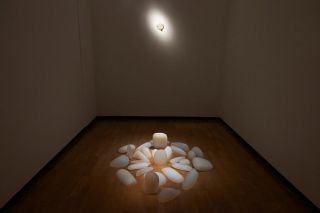 Installation view of 'Mariko Mori Rebirth' at the Royal Academy of Arts, Burlington Gardens(6)