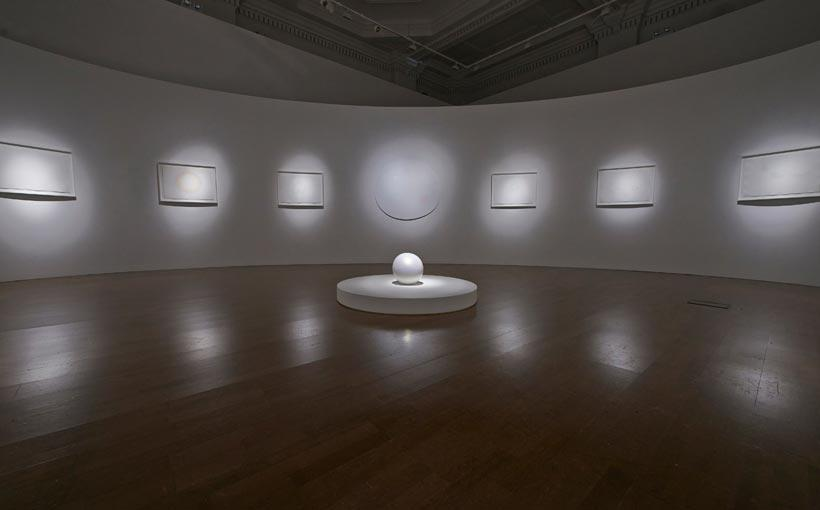 Installation view of 'Mariko Mori Rebirth' at the Royal Academy of Arts, Burlington Gardens (4)