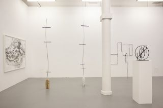 Drawing Sculpture Alice Channer, Sara Barker, KnutHHenricksen installation small