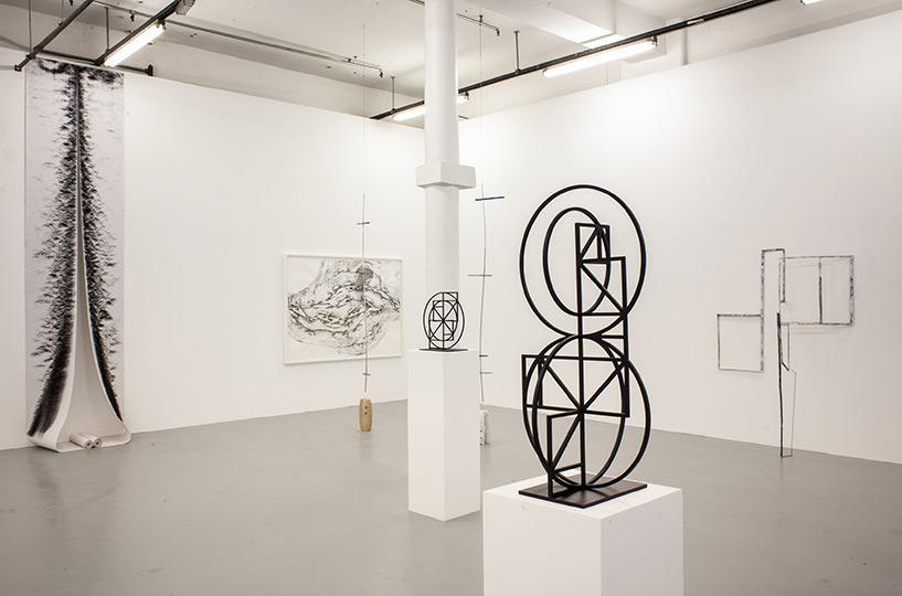 Drawing Sculpture Knut Henrick Henricksen Alice Channer installation viewsmall