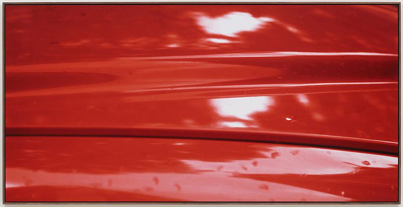 Red, 1976 2012, From New Color Studies, Jan Dibbets