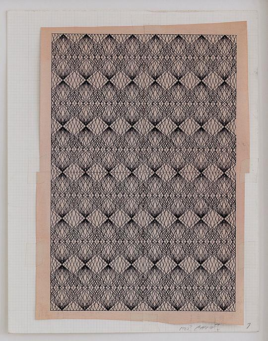 Channa Horwitz Patterns 9