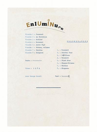 Henri Chopin Enluminure 1
