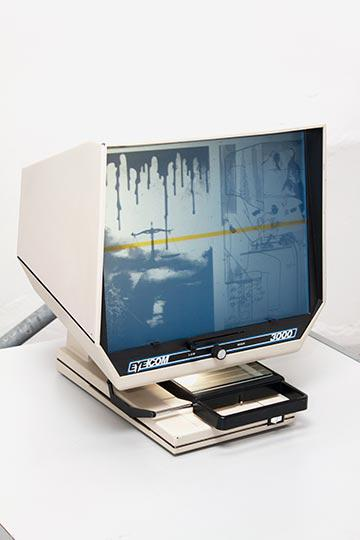 Jon Rafman Annals of Time Lost Microfiche Archive 1