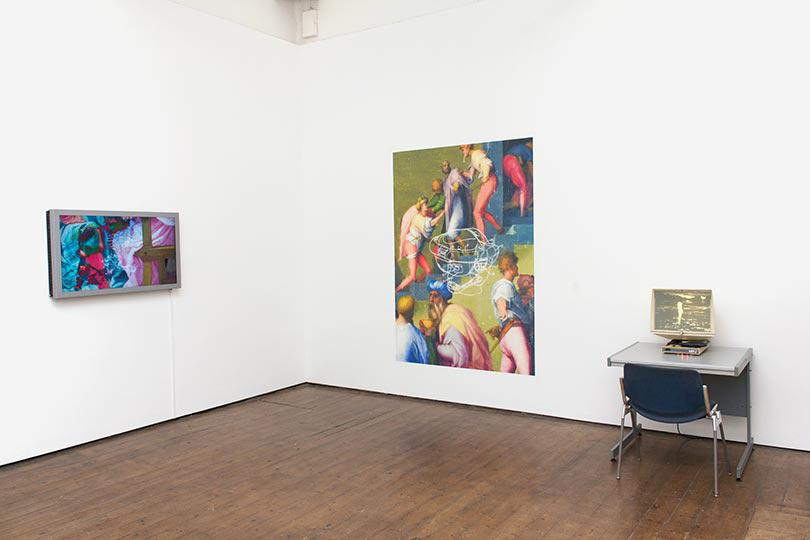 Jon Rafman Installation View 2
