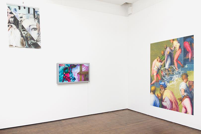 Jon Rafman Installation View