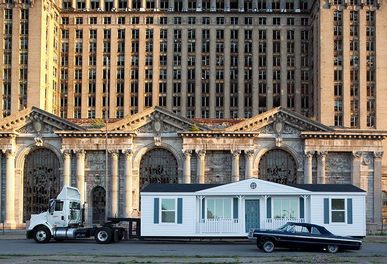 Mike Kelley, Mobile Homestead, 2012, an Artangel commission