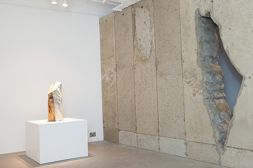 Installation view, Khaled Jarrar, Whole in the Wall, Ayyam Gallery London, 2013, Courtesy the artist and Ayyam Gallery, Photo Susanne Hakuba (11)