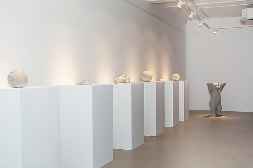 Installation view, Khaled Jarrar, Whole in the Wall, Ayyam Gallery London, 2013, Courtesy the artist and Ayyam Gallery, Photo Susanne Hakuba (22)