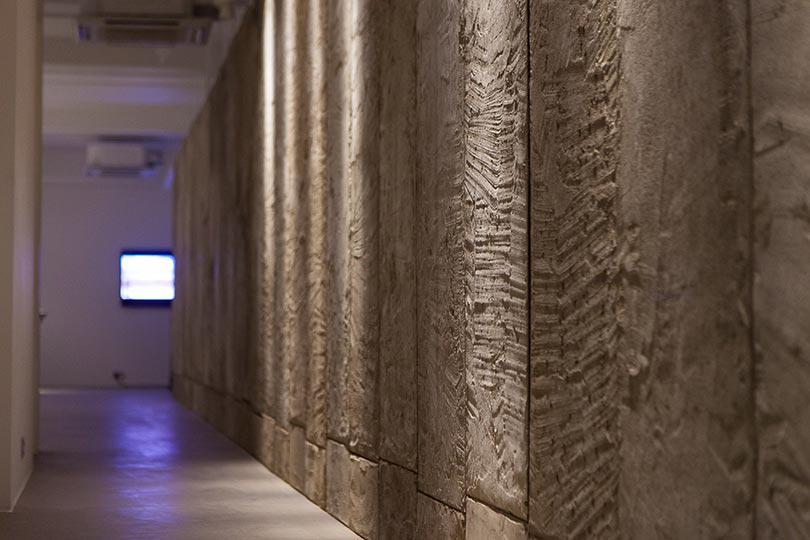 Installation view, Khaled Jarrar, Whole in the Wall, Ayyam Gallery London, 2013, Courtesy the artist and Ayyam Gallery, Photo Susanne Hakuba (3)
