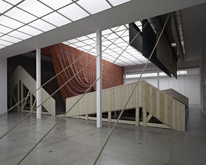 Ulla von Brandenburg Innen ist nicht Auben Installationsansicht installation view Secession 2013 photo Wolfgang Thaler03