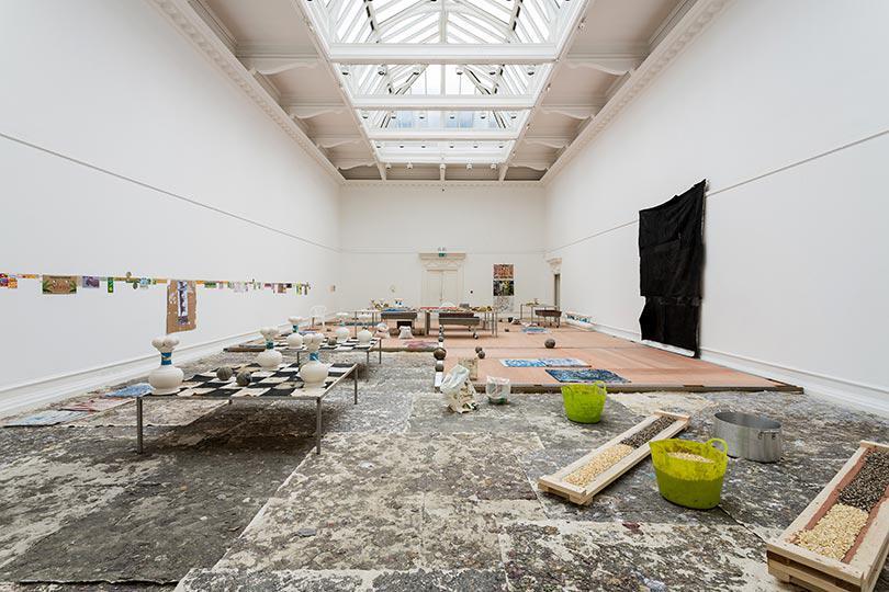 Mark Blower 130919 Oscar Murillo South London Gallery 0068