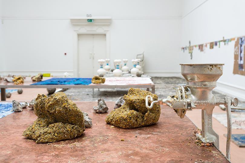 Mark Blower 130919 Oscar Murillo South London Gallery 0096