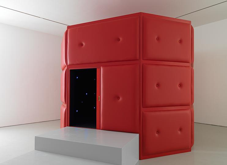 Tatsuo Miyajima, Life Palace (tea room) 2013, Courtesy the artist and Lisson Gallery