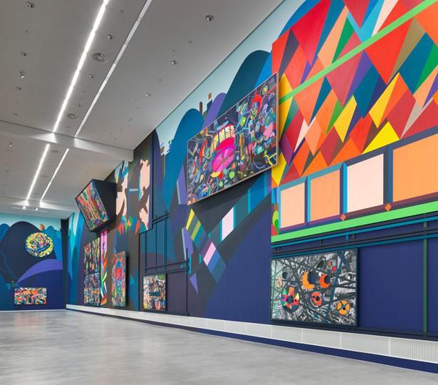 Museum Berlin Franz Ackermann Painting Forever Ausstellungsansicht01 1 3MB 1