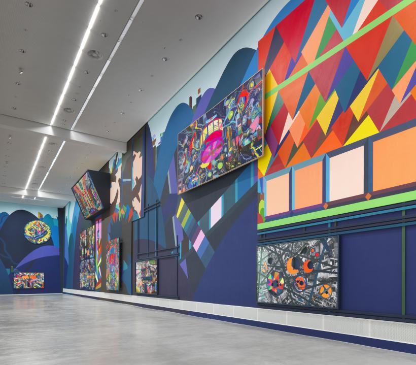 Museum Berlin Franz Ackermann Painting Forever Ausstellungsansicht01 1 3MB