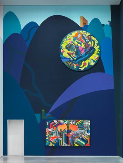 Museum Berlin Franz Ackermann Painting Forever Ausstellungsansicht02 1MB