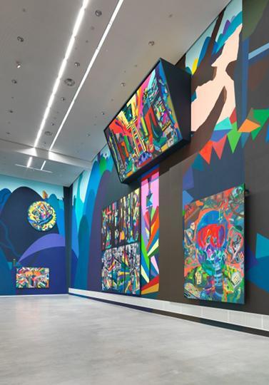 Museum Berlin Painting Forever Franz Ackermann Ausstellungsansicht 04 2 5MB