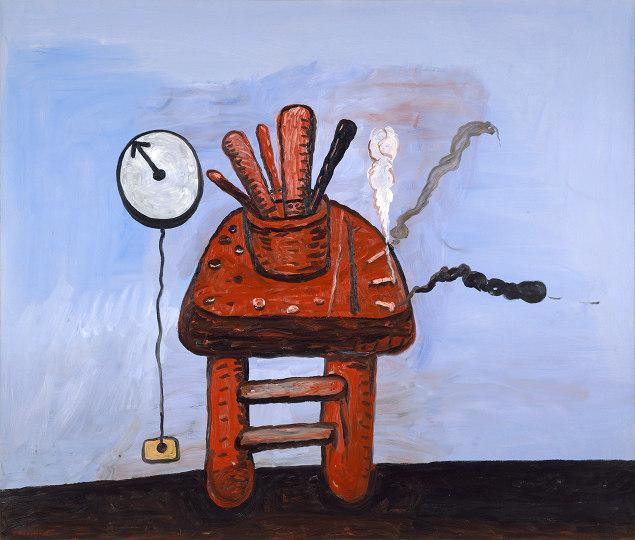 Schirn Presse Philip Guston Studio Bench 1978