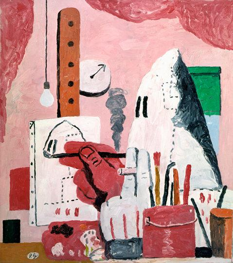 Schirn Presse Philip Guston The Studio 1969