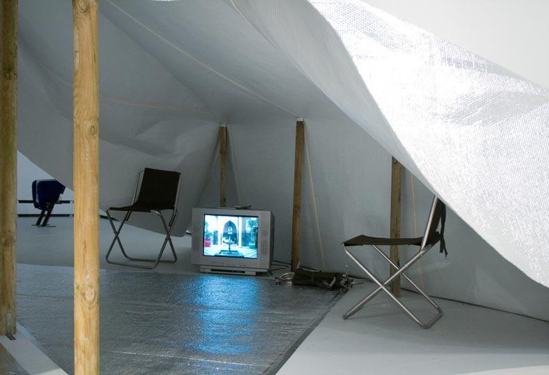 MarkAerielWaller installation image WysingArtsCentre c
