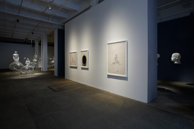 Installation view Talking Continents Galerie Lelong 4