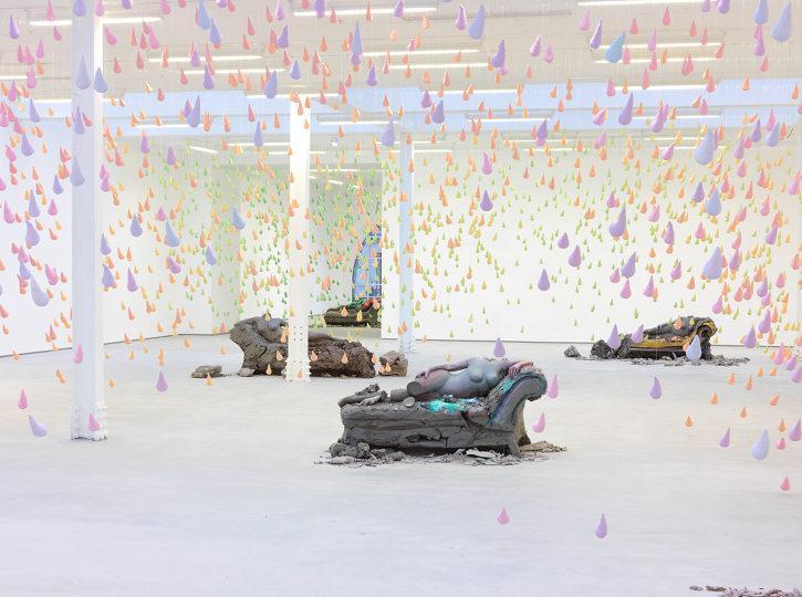 Installation view Urs Fischer Sadie Coles HQ London 2013 05