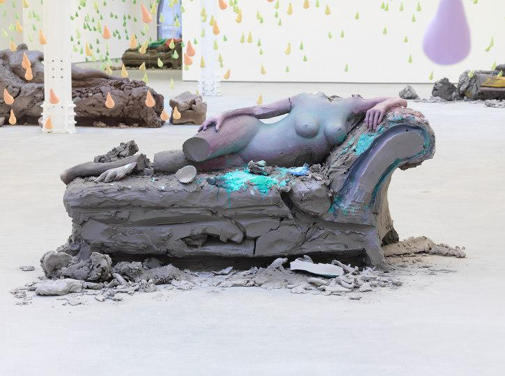 Installation view Urs Fischer Sadie Coles HQ London 2013 07