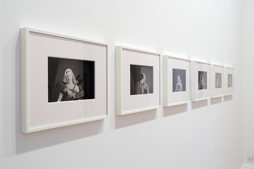 Akram Zaatari, On Photography People and Modern Times, Installation shots, credit Thierry Bal and courtesy Thomas Dane Gallery, 7