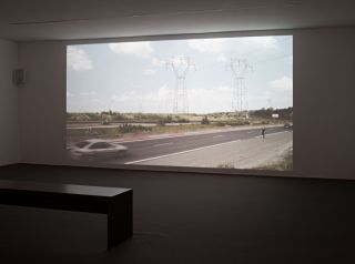 Guido van der Werve, Installationsansicht installation view Secession 2013, Photo Wolfgang Thaler 01