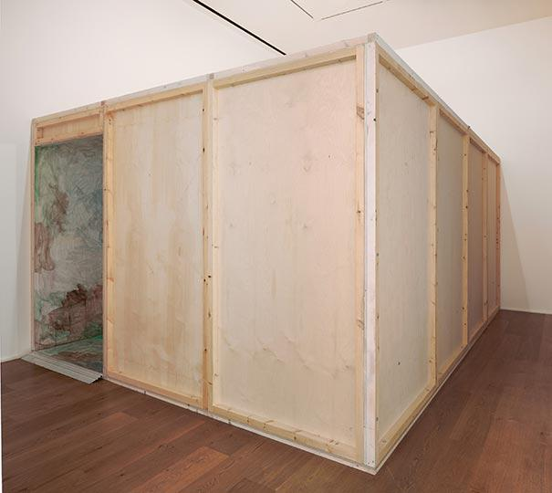 Hauser Wirth London, Installation View, Zhang Enli 'The Box' (7)