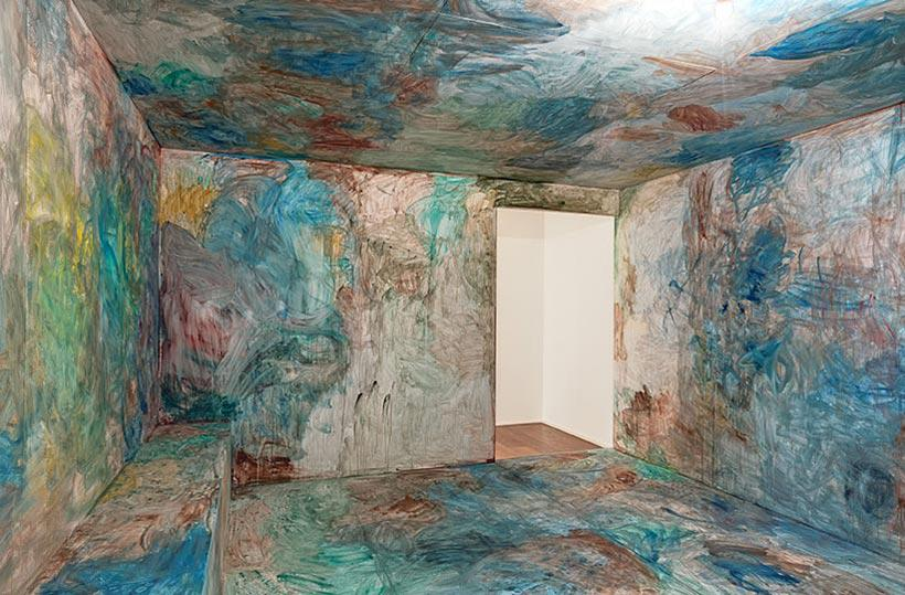 Hauser Wirth London, Installation View, Zhang Enli 'The Box' (8)
