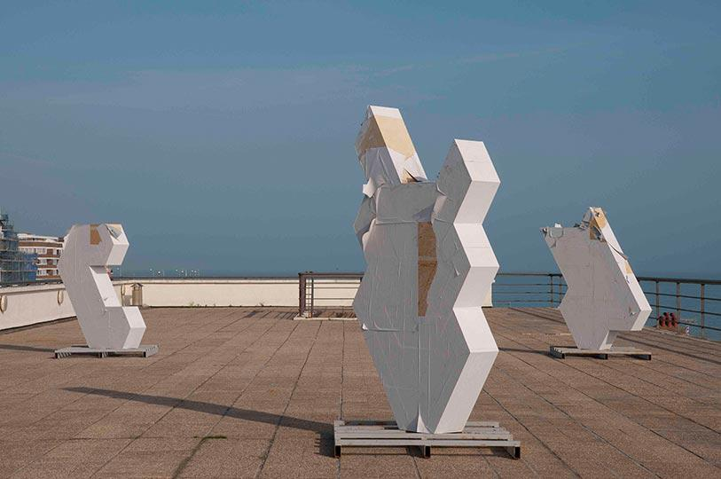 Matt Calderwood Exposure Sculptures 2013 photo Nigel Green low3