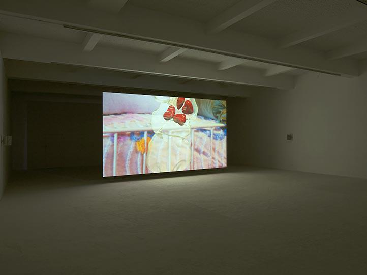 Jordan Wolfson at Chisenhale Gallery Photo Andy Keate 02