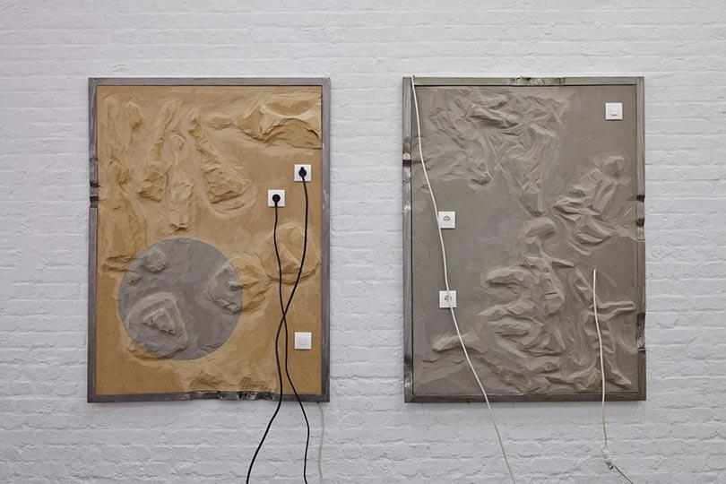 Installation view of Geographies of Contamination