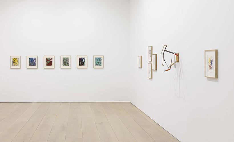 Installation view, Al Taylor, David Zwirner, London